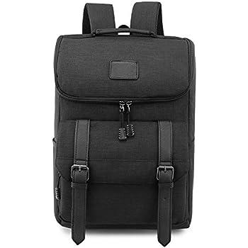 Amazon.com: Canvas Backpack, P.KU.VDSL-WENJIE SERIES Vintage ...