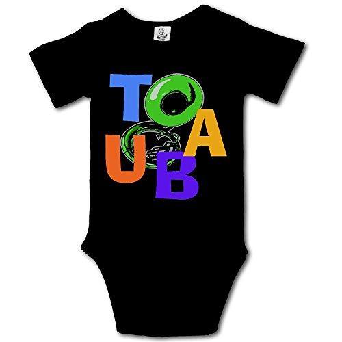 WalterTi Tuba Scramble Infant Climbing Short-Sleeve Onesie J