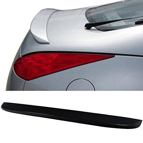 Trunk Spoiler Fits 2003-2008 Nissan 350Z | Factory Style Unpainted ABS Added On Lip Wing Bodykits by IKON MOTORSPORTS | 2003 2004 2005 2006 2007 2008