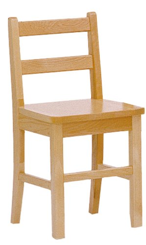 Steffy Wood Products 16-Inch Solid Maple Chair
