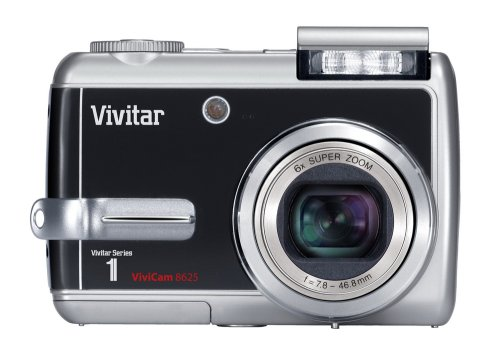 Vivitar VIVICAM-8625 8.1 MegaPixel Camera with 6x Optical Zoom and 2.5
