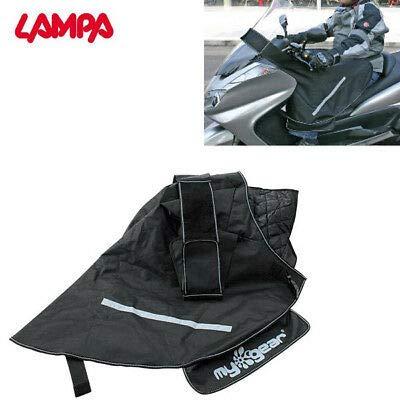 91335 Cubrepiernas cubrepiernas Compatible con Peugeot Citystar 125 I 2011 11 Impermeable Cortavientos Negro con Interior Acolchado