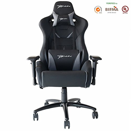 [Large Size]]E-WIN Gaming Chair Racing Style Computer Chair 4D Armrest With Headrest and Lumbar Support Ergonomic Designs
