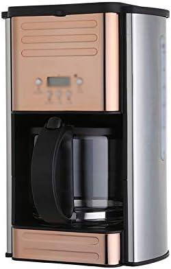 LJHA kafeiji Cafetera Americana, cafetera de Goteo, Oficina en el hogar, cafetera pequeña, cafetera de Filtro, 264 mm × 216 mm × 328 mm, Oro Rosa (Color : Oro): Amazon.es: Hogar