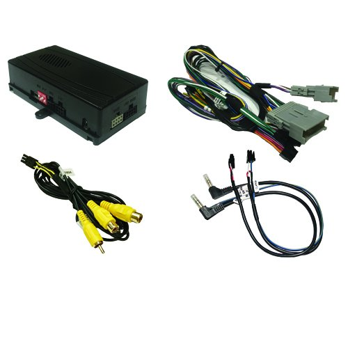 CRUX SOOGM-15V OnStar Radio Replacement with SWC Retention and Forced Camera Input for Select GM Class II Vehicles