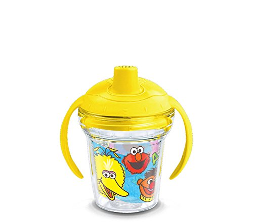 Tervis 1300735 Sesame Street Original Group Insulated Tumbler with Wrap Lid 6 oz Clear ()