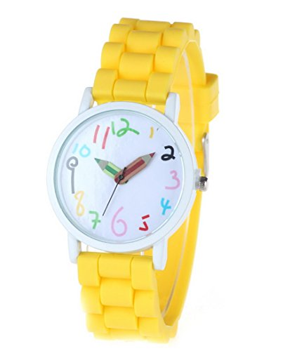 happy-cherry-kids-candy-colors-rubber-band-quartz-wrist-watch-sports-watch-for-students-yellow
