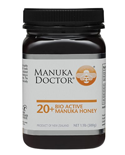 Manuka Doctor Bio Active Honey, 20 Plus, 1.1 Pound