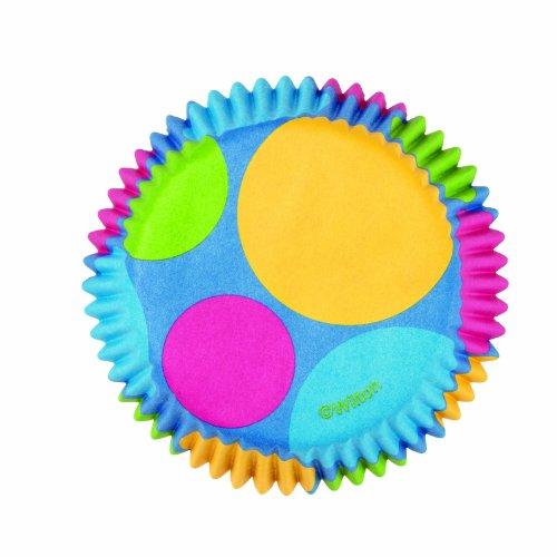 mini baking cups dots - 1