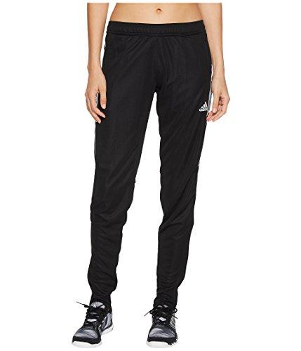 adidas Women's Tiro '17 Pants Black/Silver Reflective Small