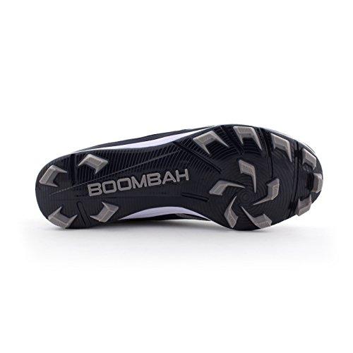 Boombah Womens A-game Voorgevormde Schoenplaatjes - 15 Kleurenopties - Meerdere Maten Marine / Grijs