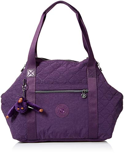 Kipling Womens Art Handbag, deep purple