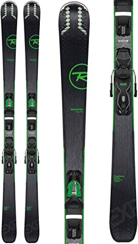Rossignol Experience 76 Ci/Xpress 10 Ski Package Mens Sz 170cm Black/Green