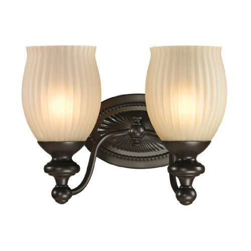 Elk Lighting 11651/2 Park Ridge Collection 2 Bath Light, Oil Rubbed Bronze