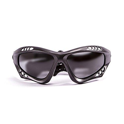 Oculos Para Jet Ski E Kitesurf Ocean Australia (Preto Fosco, Smoke)
