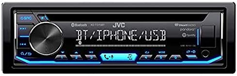 JVC KD-TD90BTS CD Receiver Featuring Bluetooth USB SiriusXM Pandora iHeartRadio Spotify 13-Band EQ