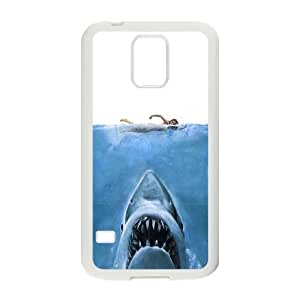 Samsung Galaxy S5 Cell Phone Case White 8 Jaws C1D4BV