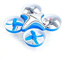 TruReey BoldClash BWHOOP B03 Altitude Hold Mini UFO Drone 2.4GHz 4CH 6 Axis Gyro Headless RC Quadcopter 260mAh 3.7V (Blue)