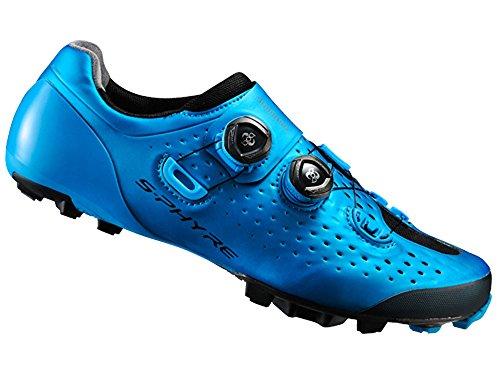 Shimano SH-XC9B Schuhe Unisex blue Größe 47 2017 Mountainbike-Schuhe