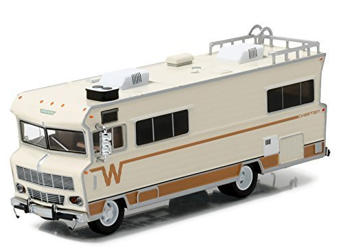 Greenlight 1 64 H D  Trucks Series 8 1973 Winnebago Chieftain Diecast Vehicle