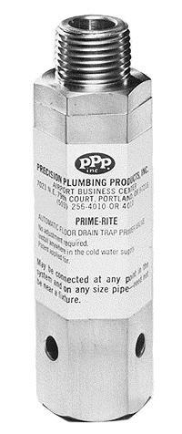 Ppp Pr 500 Prime Rite Primer Automatic Trap Primer Valve