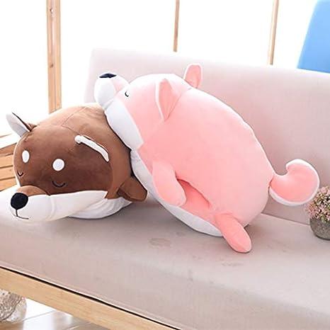 Amazon.com: Akita - Almohada de peluche para perro, diseño ...