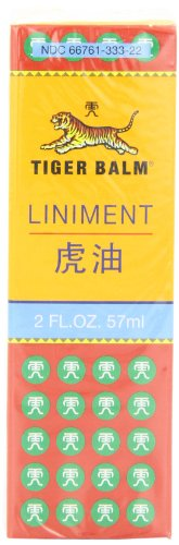 - TIGER BALM LINIMENT, 2 fl. oz (Pack of 2)