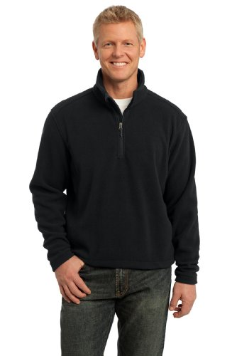 1/4 Zip Polyester Fleece Pullover - 8