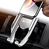 VICSEED Car Phone Mount Vent Cell Phone Holder for Car, Handsfree Mobile Phone Car Mount Cradle Compatible iPhone Xs Max XR X 8 7 Plus, Samsung Galaxy Note9 S9 S8 Plus LG Google etc.