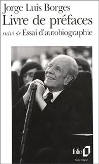 Livre de préfaces par Jorge Luis Borges