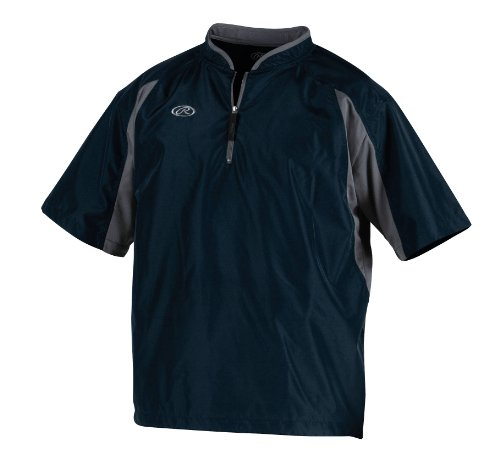 Rawlings Youth Cage Jacket (navy, Large)