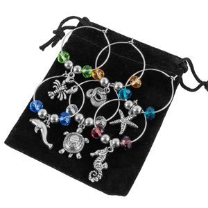 Stefania Sole Wine Glass Charms product image