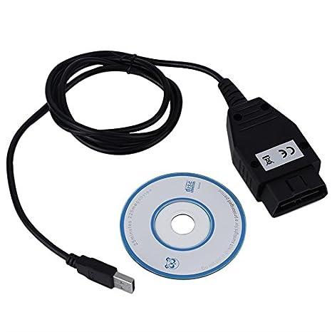 leryjoy (TM) herramienta de análisis Auto escáner de diagnóstico OBD interfaz USB Cable para Ford VCM nueva venta caliente: Amazon.es: Coche y moto