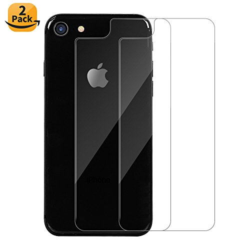 Maxdara iPhone 8 4.7inch Back Tempered Glass Screen Protector, iPhone 8 Ultra-thin Touch Accurate Anti-Scratch Screen Protector [Case Friendly][Lifetime Replacements] for iPhone 8 4.7 inch (2 (Back Screen Protector Guard)