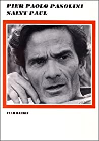 Saint Paul par Pasolini