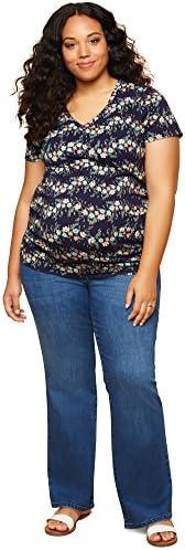 Maternidad Plus tamaño Secret Fit vientre Boot Cut Maternidad jeans