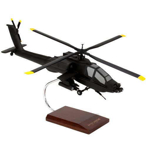 Mastercraft Collection Boeing AH 64 Apache Longbow AH-64A Helicopter Chopper Attack Air Support Model Scale:1/32 (Apache Ah 64 Longbow)