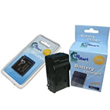 UpStart Battery DMW-BCF10E Replacement Battery and Battery Charger Kit for Panasonic Digital Cameras