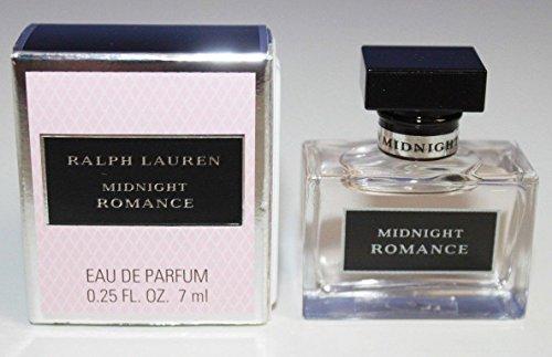 Ralph Lauren Midnight Romance Eau de Parfum Mini Splash for Women, 0.25 Ounce / 7 ()