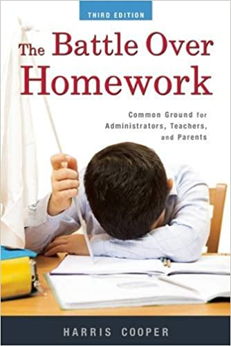 PDF  The Battle Over Homework  Common Ground for Administrators     m boss tk
