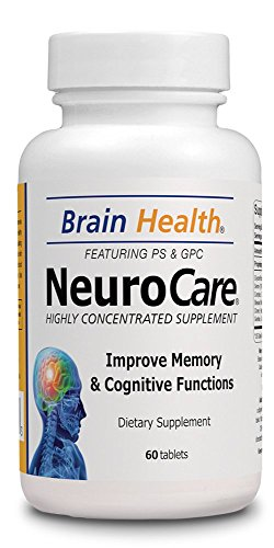 Neuro Care – Brain Health 60 Tablets – Highly Concentrate Supplent – Dietary Supplement For Sale