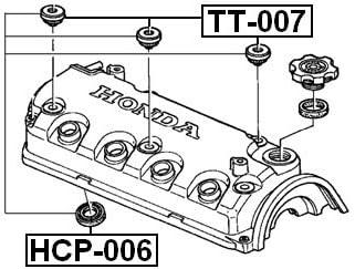 Febest Cylinder Head Spark Plug Guide For Honda 12342P2Fa01