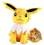 "Takaratomy Pokemon N-44 Jolteon/Thunders Best Wishes 8"" Plush Doll"