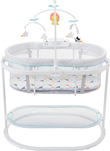 418F6yR1APL - Fisher-Price Soothing Motions Bassinet, Windmill