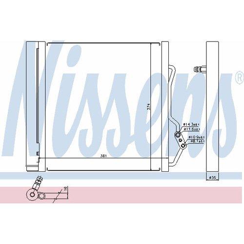 Nissens 940192 Sistemas de Aire Acondicionado