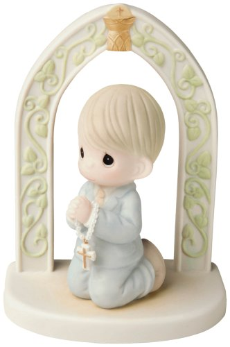 Precious Moments First Communion Boy Figurine