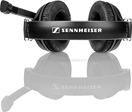 Sennheiser PC 350 Special Edition 2015 Binaurale Diadema Negro auricular con micrófono - Auriculares con micrófono (PC/Juegos, Binaurale, Diadema, Negro, ...
