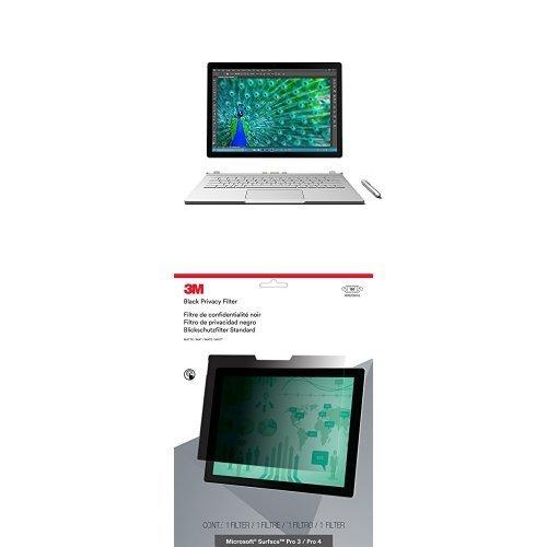Photo - Microsoft Surface Book (128 GB, 8 GB, Core i5) & 3M Privacy Screen Bundle