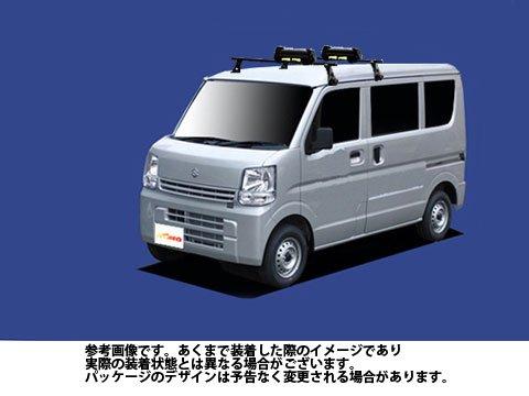 システムキャリア エブリィ 型式 DA17V DA17W SKシリーズ 1台分 平積み タフレック TUFREQ 精興工業 B06XZMT661