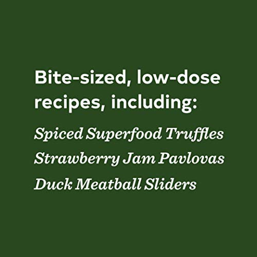 418F8TO3CQL - Edibles: Small Bites for the Modern Cannabis Kitchen (Weed-Infused Treats, Cannabis Cookbook, Sweet and Savory Cannabis Recipes)